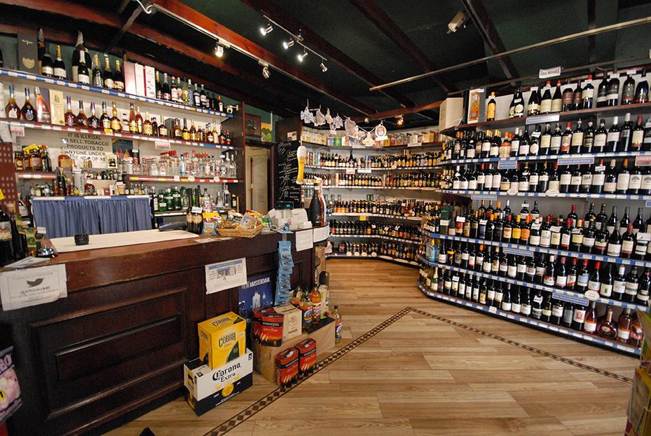 Inside Aimee's Winehouse Shop